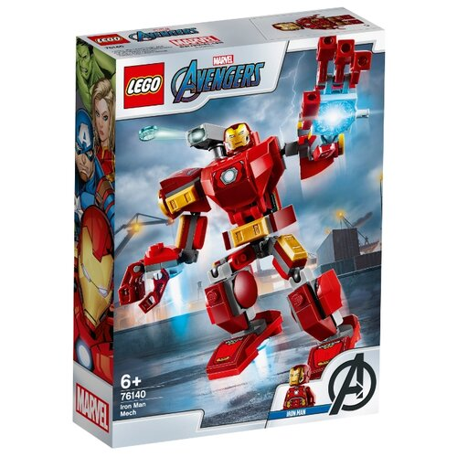 Конструктор LEGO Marvel Super Heroes 76140 Avengers Железный Человек: трасформер