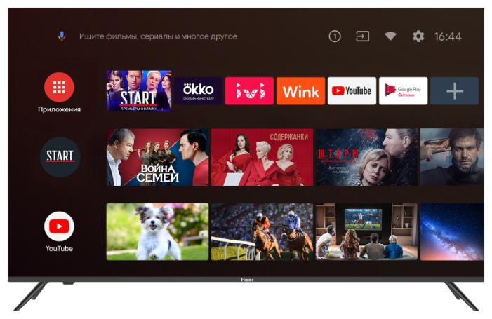 """Телевизор Haier LE55K6700UG 55"""" (2020) — купить по выгодной цене на Яндекс.Маркете"""