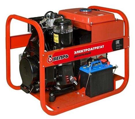 Дизельный генератор Вепрь АДП 7,0/4,0-Т400/230 ВЛ-С (5600 Вт)