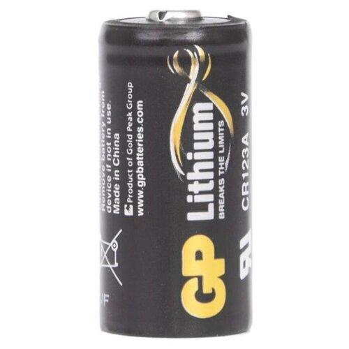 Фото - Батарейка GP Lithium CR123A, 1 шт. аккумулятор для фонарика surefire sf123a cr123a