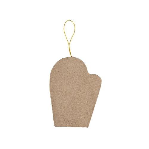 Купить Заготовки и основы Love2art PAM-109 фигуры папье-маше 3 шт №03 рукавичка (10.2x7.6x1.2), Декоративные элементы и материалы