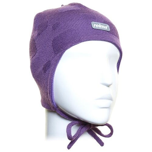 Купить Шапка Reima размер 48, violet, Головные уборы