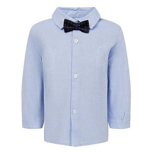 Купить Рубашка Mayoral размер 68-74, голубой, Футболки и рубашки