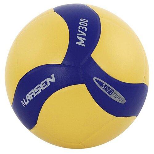цена на Волейбольный мяч Larsen MV300 желто-синий