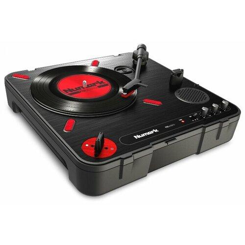 Виниловый проигрыватель Numark PT01 Scratch черный/красный