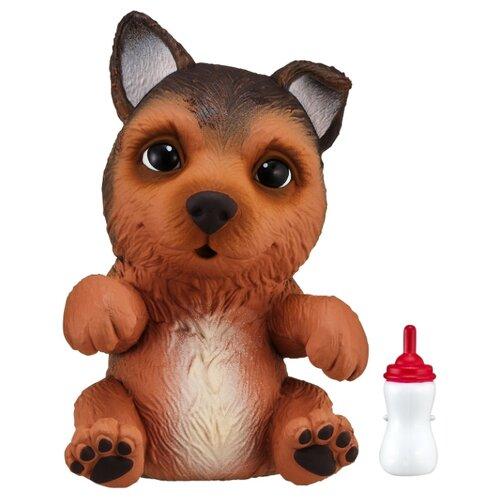 Купить Робот Moose Little Live OMG Pets сквиши-щенок Немецкая овчарка 28916 коричневый, Роботы и трансформеры