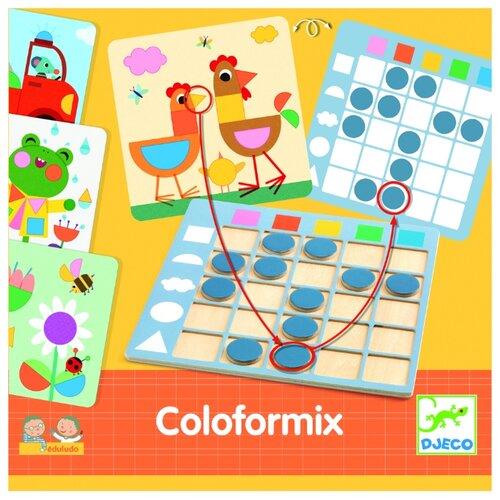 Настольная игра DJECO Eduludo Coloformix (08351)
