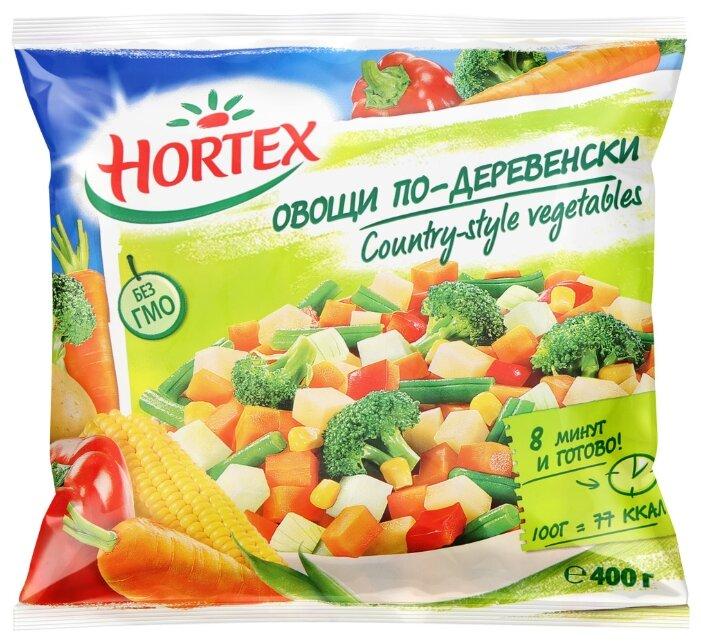 HORTEX Замороженная смесь овощи по-деревенски 400 г
