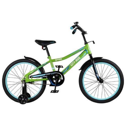 цена на Детский велосипед CITY-RIDE Spark 20 (CR-B2-0220) зеленый (требует финальной сборки)