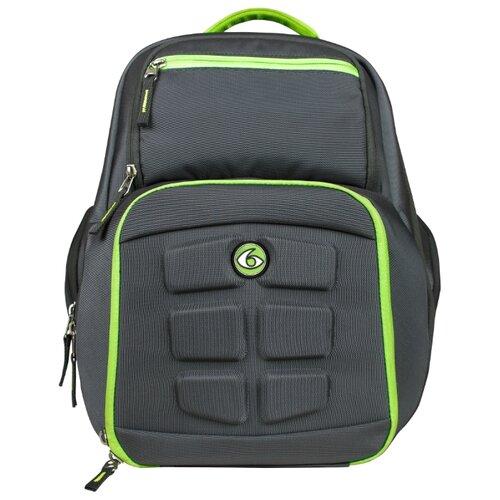 Six Pack Fitness Рюкзак Expedition Backpack 300 серый / зеленый 36 л