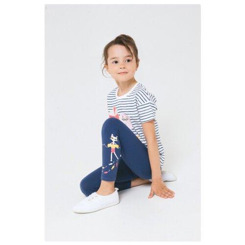 Комплект одежды crockid размер 110, сахар/ультрамарин фото