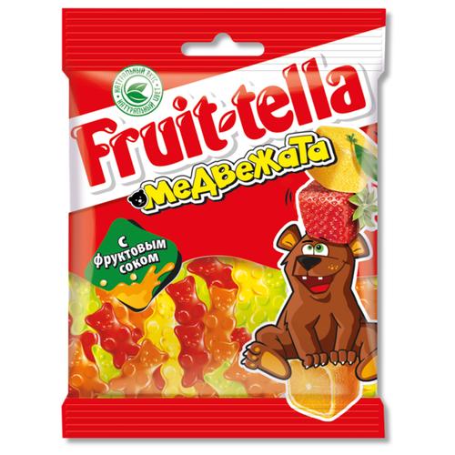 Мармелад Fruittella Медвежата ассорти 70 г мармелад fruittella крутой микс 70 г