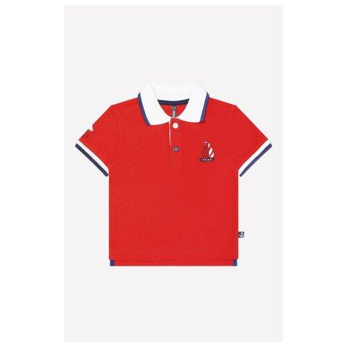 Купить Поло crockid размер 74, красный, Футболки и рубашки