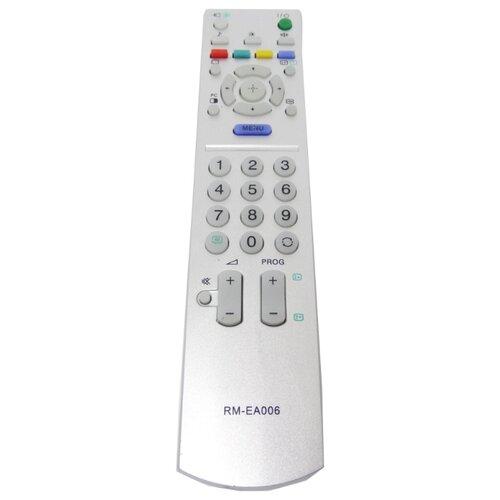 Фото - Пульт ДУ Huayu RM-EA006 для телевизоров Sony KLV-40U2520/KLV-40U2500/KLV-40U2530 серебристый пульт ду huayu rm 836c для для телевизоров philips rc1205b 30063555 rc0770 rc19036002 rc19036001 rc19042001 серый