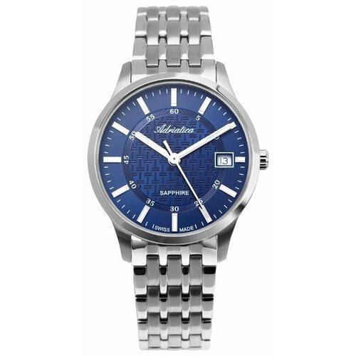 Наручные часы Adriatica 1256.5115Q adriatica часы adriatica 8241 1265q коллекция gents