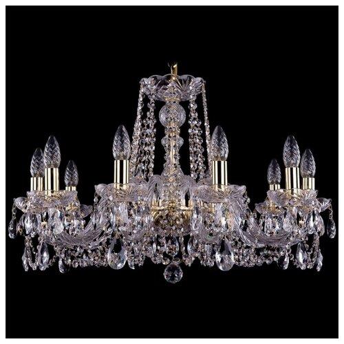 Люстра Bohemia Ivele Crystal 1402 1402/10/240/G, 400 Вт bohemia ivele crystal 1402 1402 16 400 g 640 вт