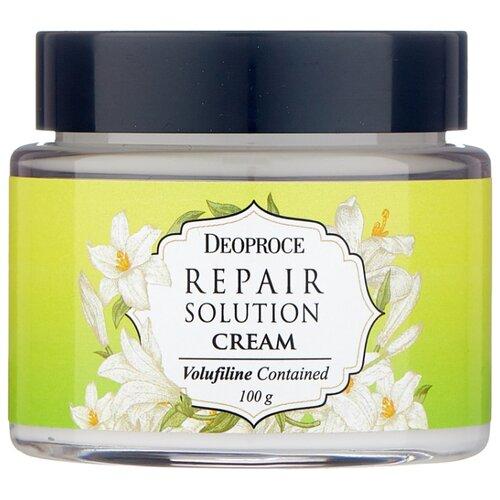 Deoproce Repair Solution Cream Volufiline Contained Питательный крем для лица с экстрактом волюфилина, 100 г фото