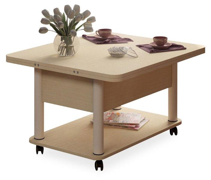 Купить Стол кухонный Форвард-мебель Дебют 3, раскладной, ДхШ: 86 х 72 см, длина в разложенном виде: 172 см, венге светлый/белый по низкой цене с доставкой из Яндекс.Маркета