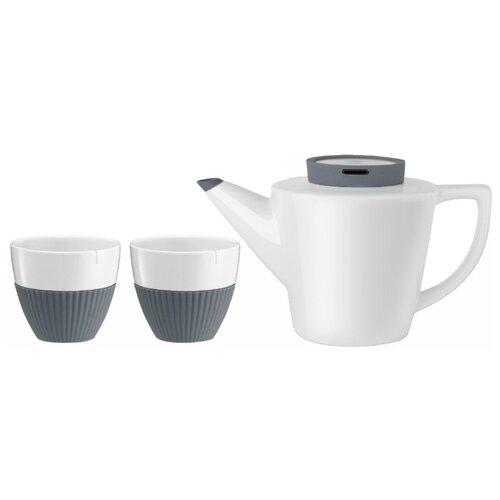 Чайный сервиз VIVA Scandinavia Infusion, 2 персоны серый