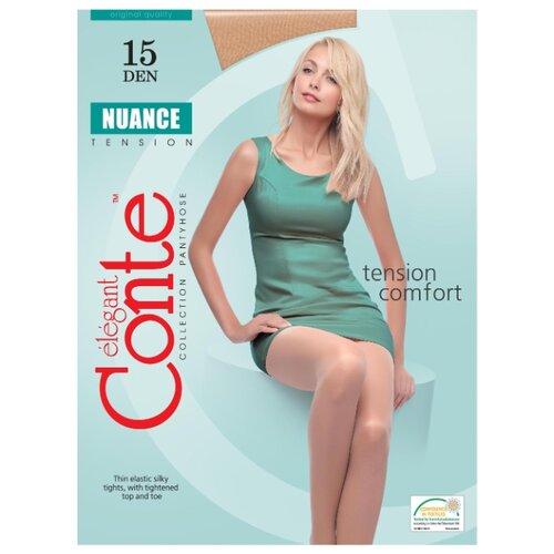 Фото - Колготки Conte Elegant Nuance 15 den, размер 3, natural (бежевый) комплект conte elegant conte elegant mp002xw13v8a