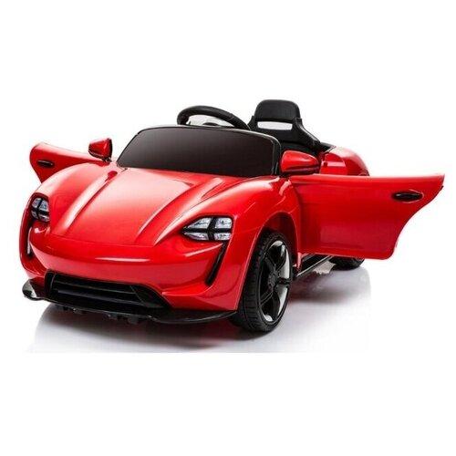 Купить Электромобиль City-Ride, на аккумуляторе, 6V/4.5AH*2, Р/У, свет, звук, мр3, USB, индикатор заряда, 115*65*50см, цвет красный, Электромобили