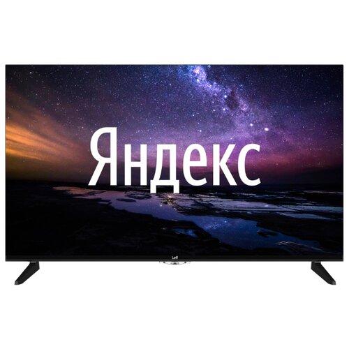 Телевизор Leff 43U510S 43 (2020) на платформе Яндекса черный led телевизор leff 32h510t smart tv 31 5