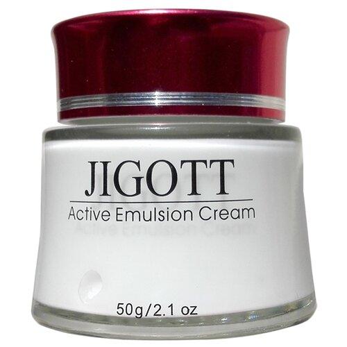 Jigott Active Emulsion Cream Интенсивно увлажняющий крем-эмульсия для лица, 50 г