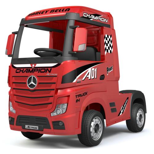 Barty Автомобиль Mercedes-Benz Actros HL358 красный глянец