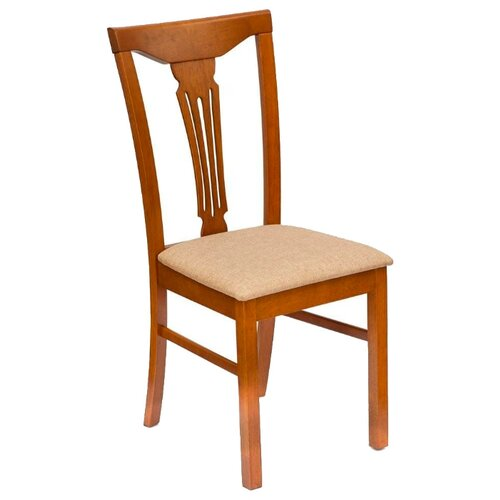 Комплект стульев TetChair Hermes, дерево/текстиль, 2 шт., цвет: дуб в красноту