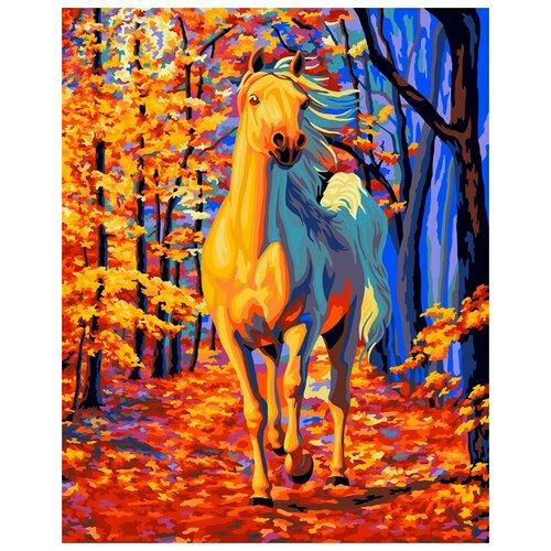 Купить Раскрашивание, раскраски ФРЕЯ PNB/R1 №125 Набор для раскрашивания по номерам 50 х 40 см Сказочный лес , Картины по номерам и контурам