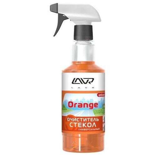 Очиститель для автостёкол Lavr Glass Cleaner Orange Ln1610, 0.5 л