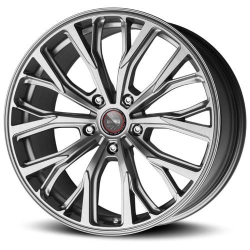 Фото - Колесный диск Momo SUV RF-02 11x20/5x120 D74.1 ET37 Titan Silver Brushed колесный диск legeartis b153 7 5x17 5x120 d72 6 et37 silver