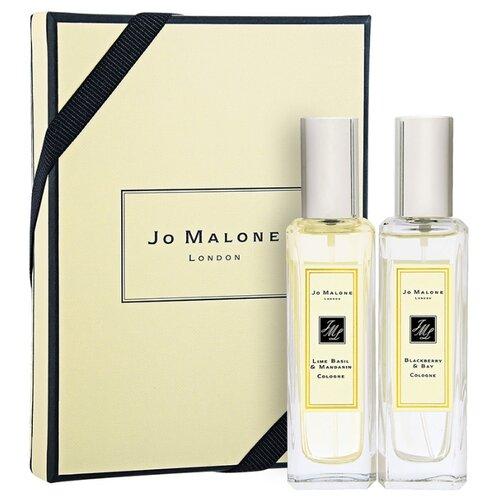 Парфюмерный набор Jo Malone Lime Basil & Mandarin, Blackberry & Bay