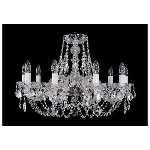Люстра Bohemia Ivele Crystal 1406 1406/10/240/Ni/Leafs, E14, 400 Вт люстра bohemia ivele crystal 1406 1406 8 160 ni leafs e14 320 вт