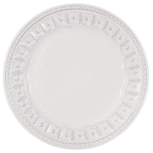 Тарелка закусочная Matceramica Augusta (белый) без инд. упаковки, кераика, 22 см (MC-F566300005D0053)