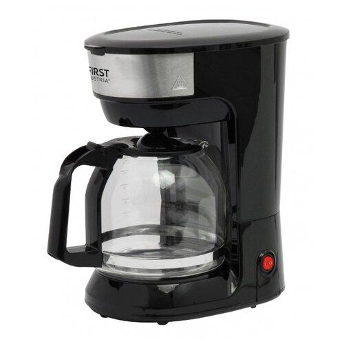 Кофеварка FIRST AUSTRIA FA-5459-5 черный/серебристый first fa 5458 brown кофеварка