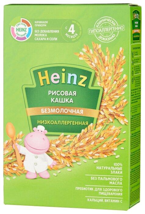 Каша Heinz безмолочная рисовая (с 4 месяцев) 160 г
