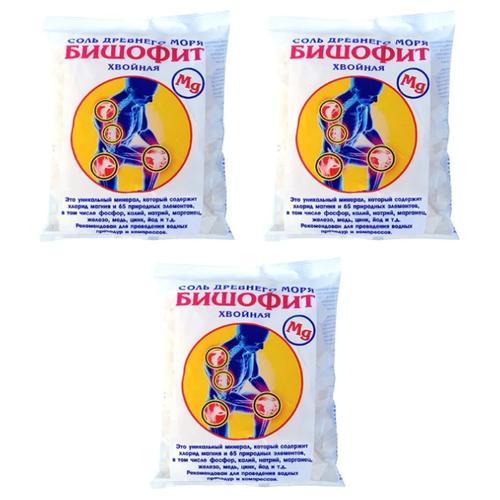 AROMA'Saules Соль древнего моря для ванн Бишофит хвойный, 1.5 кг