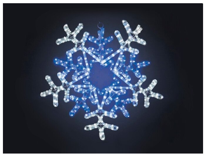 Фигура NEON-NIGHT Снежинка 60x60 см