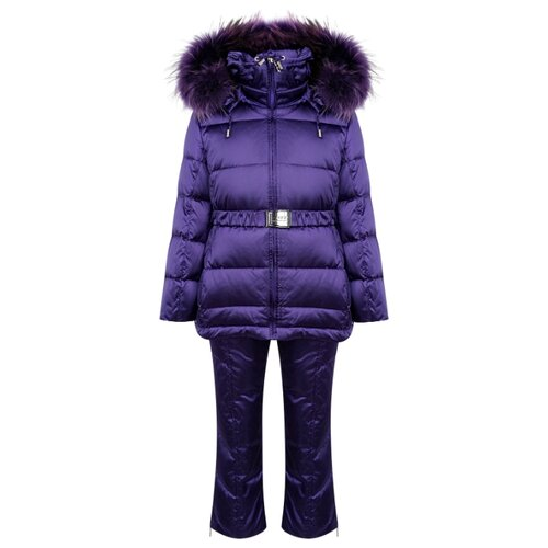 Купить Комплект с полукомбинезоном Manudieci 2122948 размер 128, фиолетовый, Комплекты верхней одежды