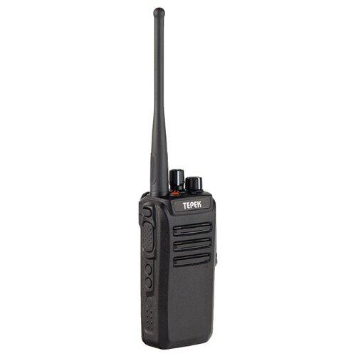 Рация ТЕРЕК РК-401 U черный мобильная рация терек рм 302 uhf
