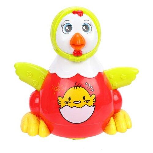 Развивающая игрушка Наша игрушка Курочка M8922-1 красный/желтый игрушка