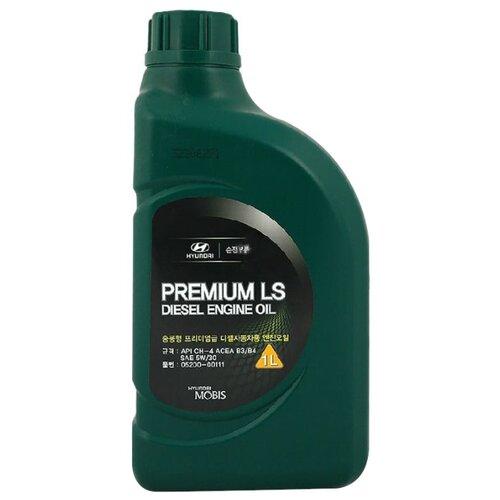 Полусинтетическое моторное масло MOBIS Premium LS Diesel 5W-30 1 л минеральное моторное масло mobis classic gold diesel 10w 30 4 л