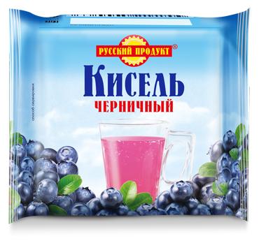 Кисель Русский Продукт Черничный 220 г