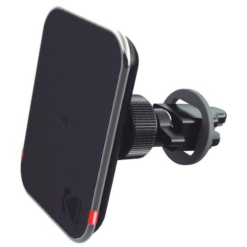 Магнитный держатель с беспроводной зарядкой Kodak UC102 черный