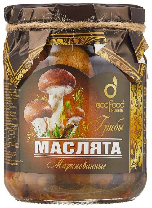 Маслята Ecofood маринованные