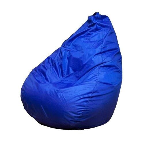 Пуффбери кресло-мешок Груша Оксфорд XXXL синий оксфорд