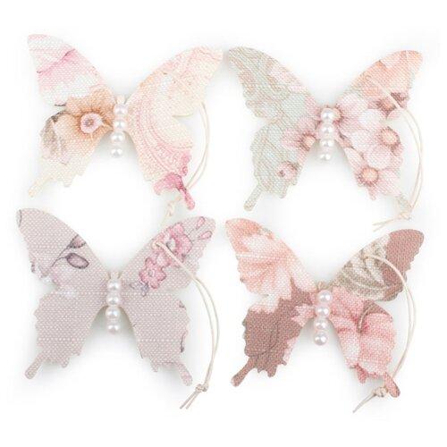 Купить Набор декоративных элементов Бабочка 80 х 70 мм, Efco, Украшения и декоративные элементы