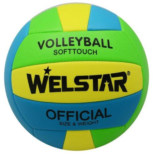 Волейбольный мяч WELSTAR VMPVC4351A зеленый/синий/желтый