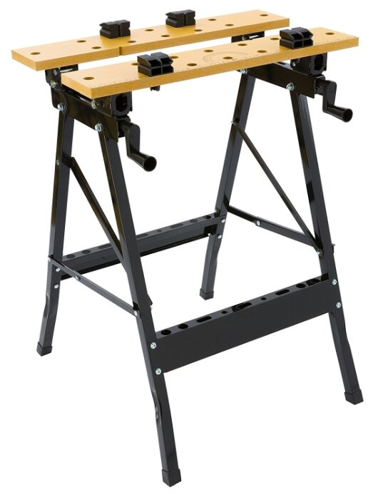 Portable work benches hand hoe